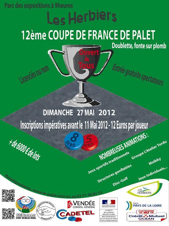 Cdsmr 44 coupe de france de palet 2012 auteur admin - Www le palet com competitions coupes bulletins d inscriptions ...